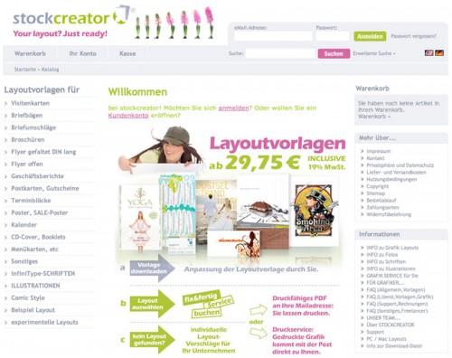 Design - stockcreator