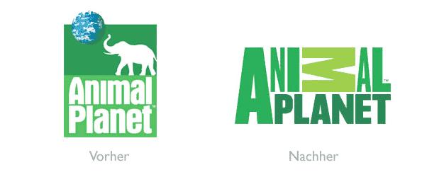 Design - Logo Animal Planet