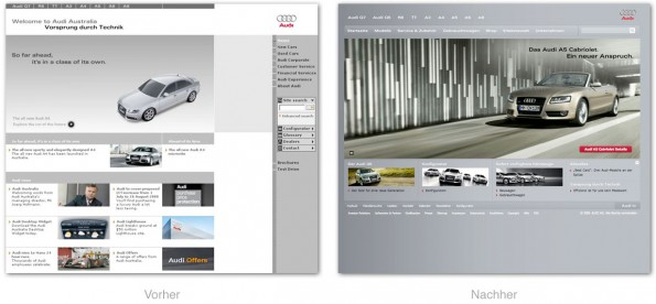 Design - Audi Website Relaunch