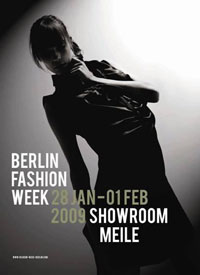 Berlin Fashion Week 2009 Plakat