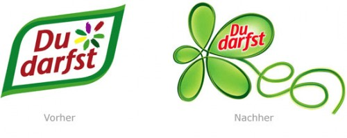 Design - du darfst logo