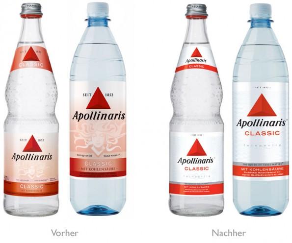 Apollinaris Redesign