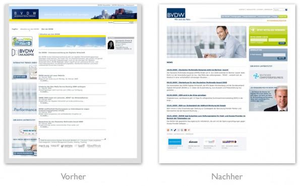 Design - Redesign des BVDW