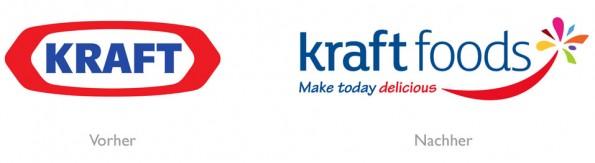 Neues Kraft Foods Logo
