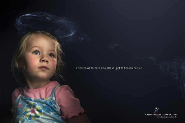 Kinder und Zigaretten