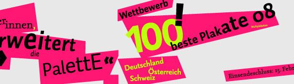 Design - 100 beste Plakate 2008