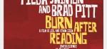 Design Filmplakat Burn After Reading