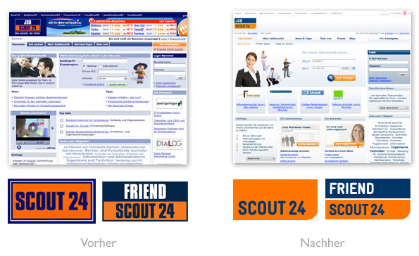 Design - scout24 Redesign