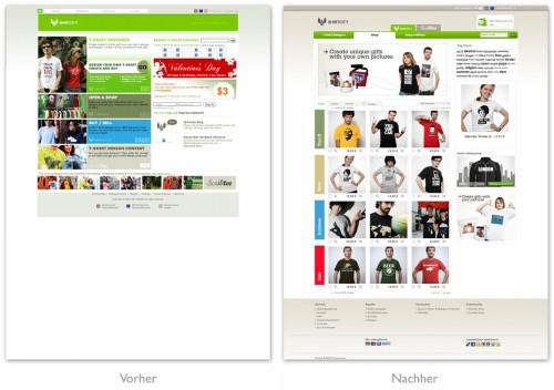 Shirtcity Relaunch 2009