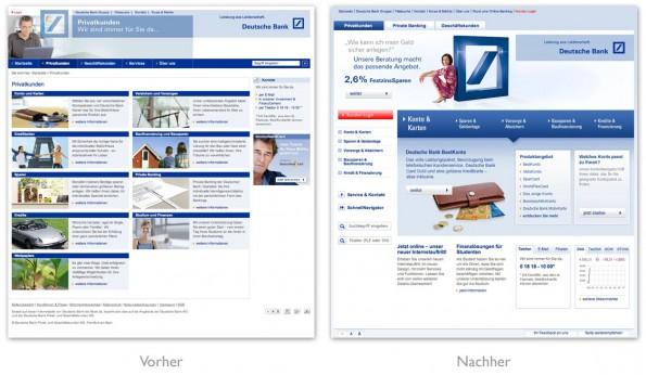 Design - Relaunch Deutsche Bank