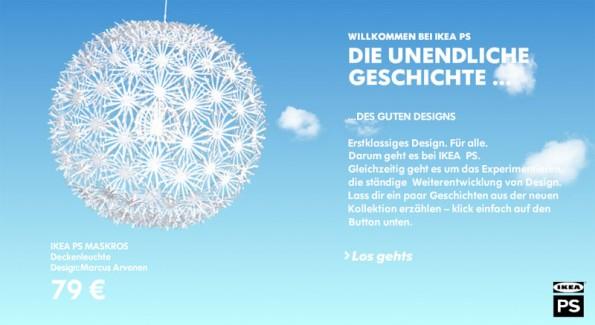 Design - IKEA PS Startseite