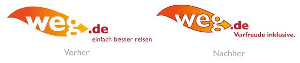 Logo weg.de