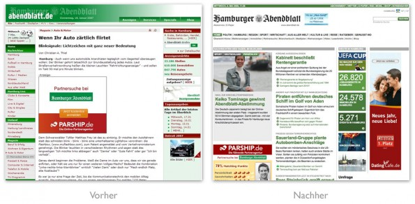 Design - Hamburger Abendblatt