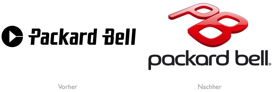 Das Neue Packard Bell Logo Designbote