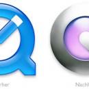 QuickTime Logo Vorher/Nachher
