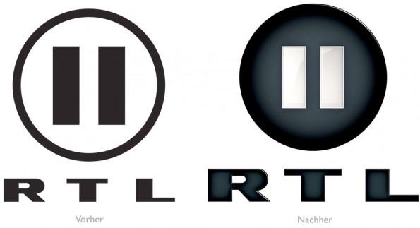 Design - RTL II Vorher/Nachher
