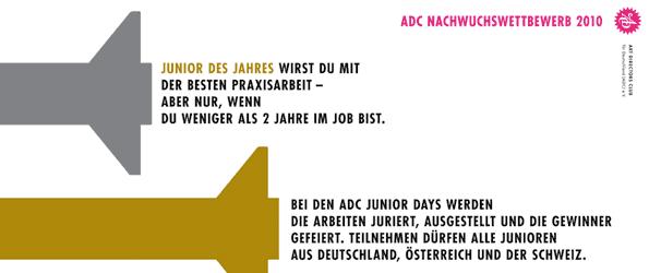 Design - ADC Nachwuchswettbewerb 2010