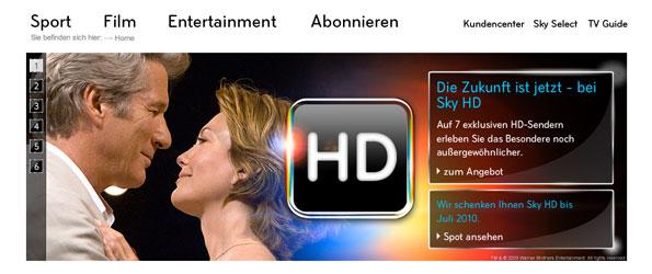 Design - sky.de