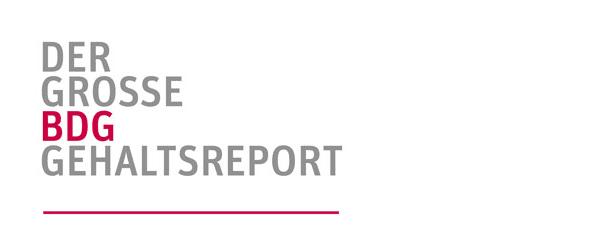 BDG Gehaltsreport