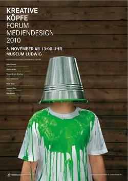 Plakat Forum Mediendesign 2010