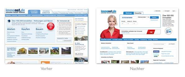 immonet.de Relaunch 2011
