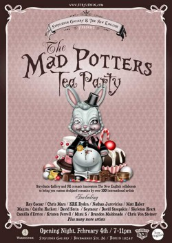 The Mad Potters Tea Party - Plakat