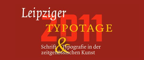 Leipziger Typotage 2011