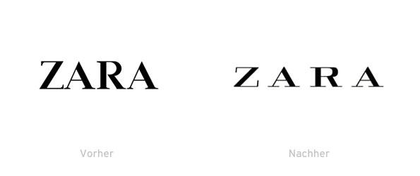 ZARA Logo 2011