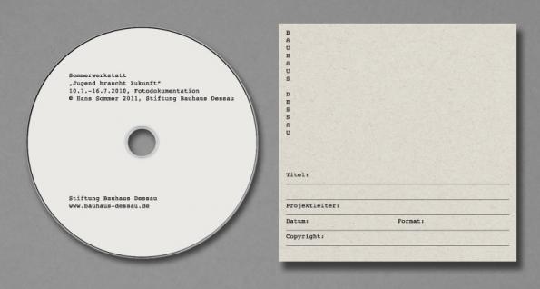 CD mit Hülle