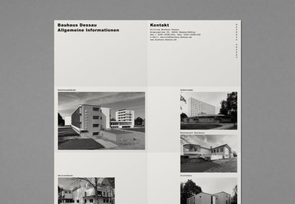 Faltblatt in neuem Design