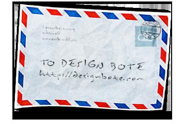 DesignBote Luftpost Mitmachen