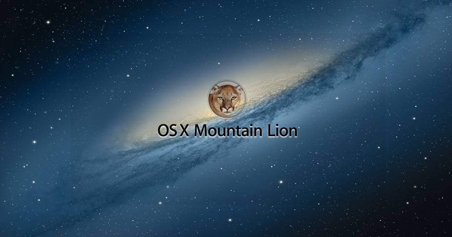 Design - OS X Mountain Lion
