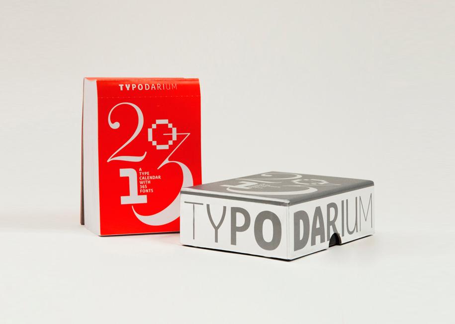 Design - Front »Typodarium 2013«