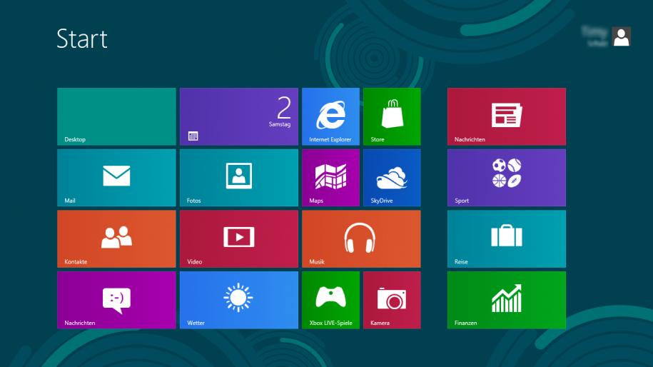 Windows 8 Metro StartScreen