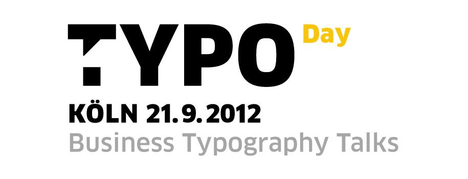Design - Typo Day Köln 2012