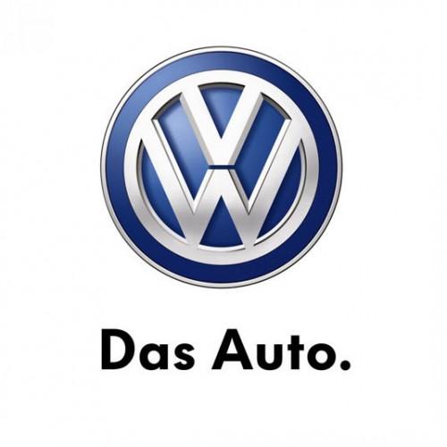 VW Logo mit Claim