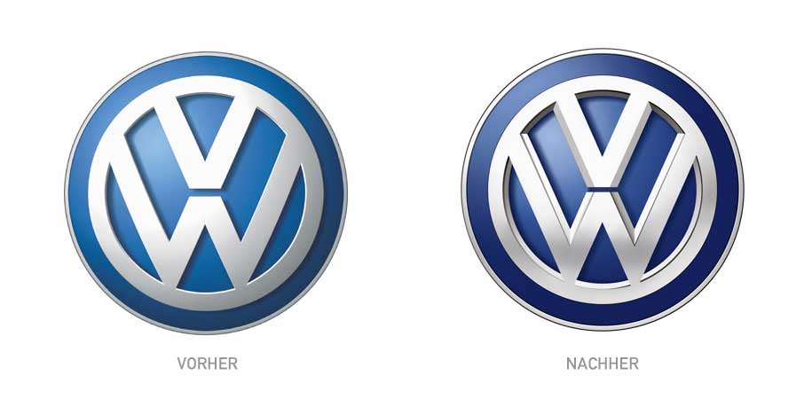 Design - VW Neues Logo