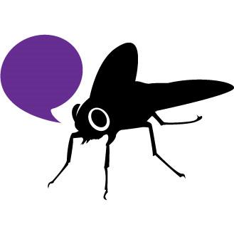 Die Fliege vonDailyArtDesign