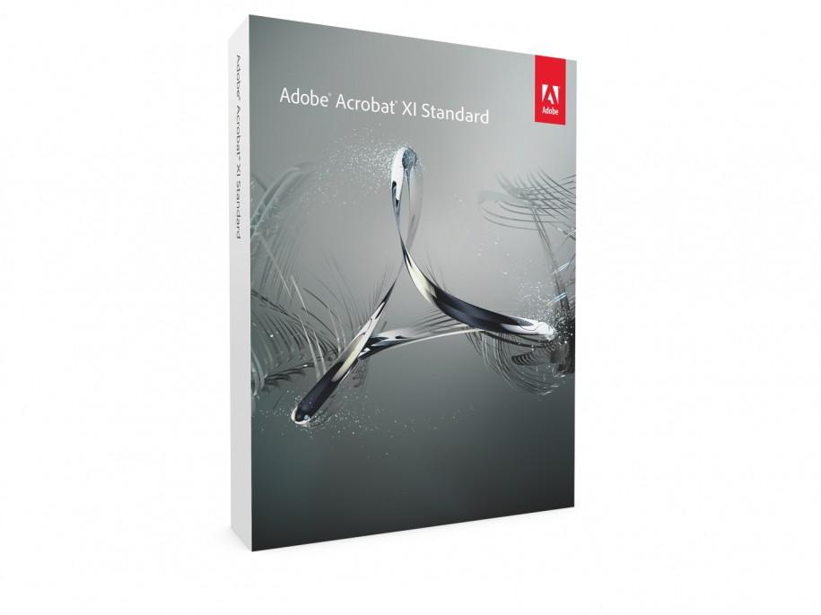 Die neue Verpackung des Adobe Acrobat XI Standard
