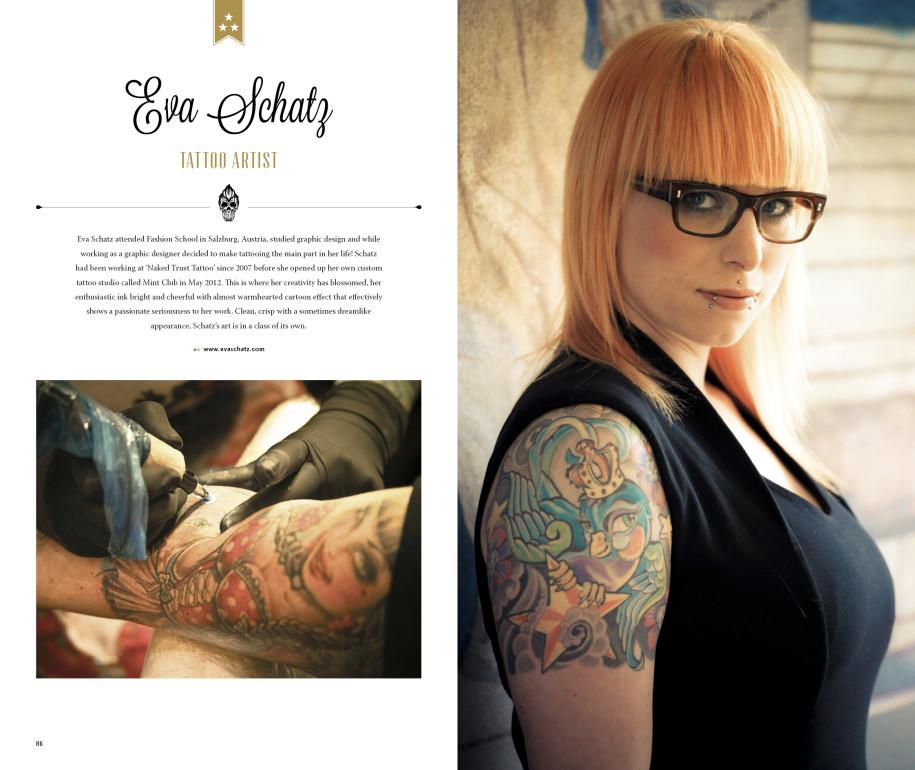 Eva Schatz - Tattoo Artist