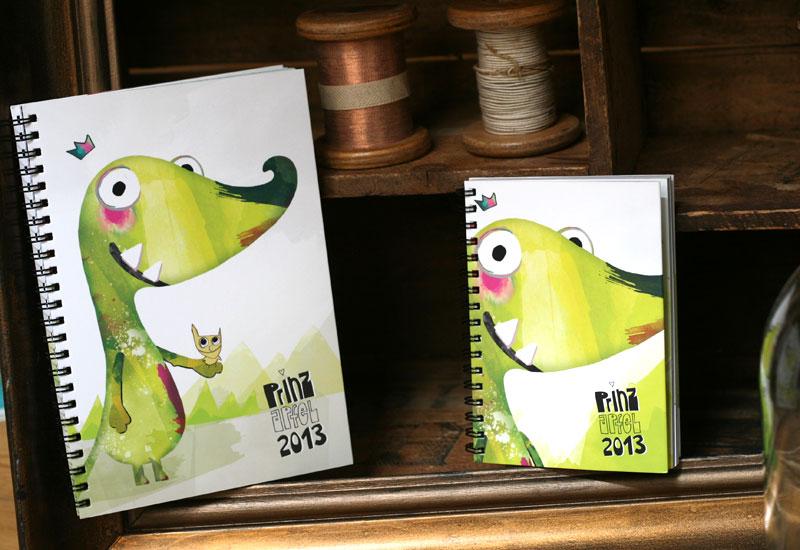 Die PrinzApfel 2013 Taschenkalender