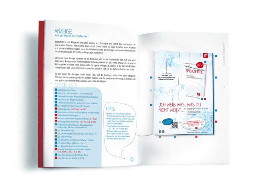 Spickzettel - Ein Blick ins Buch