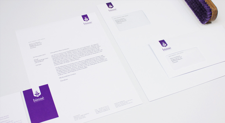 Corporate Design für »Binné«