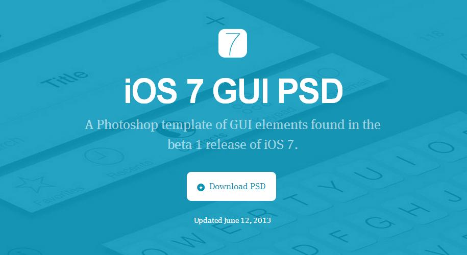 Design - ios7_titelbild