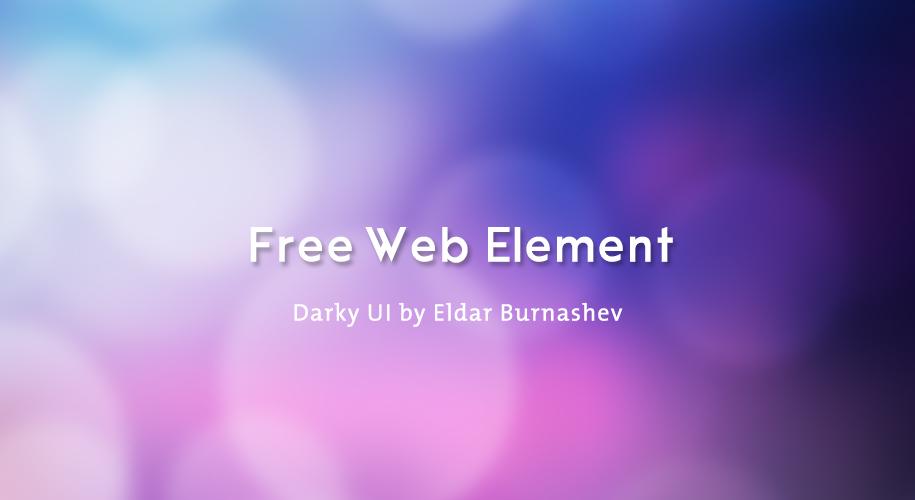 Design - free web element1