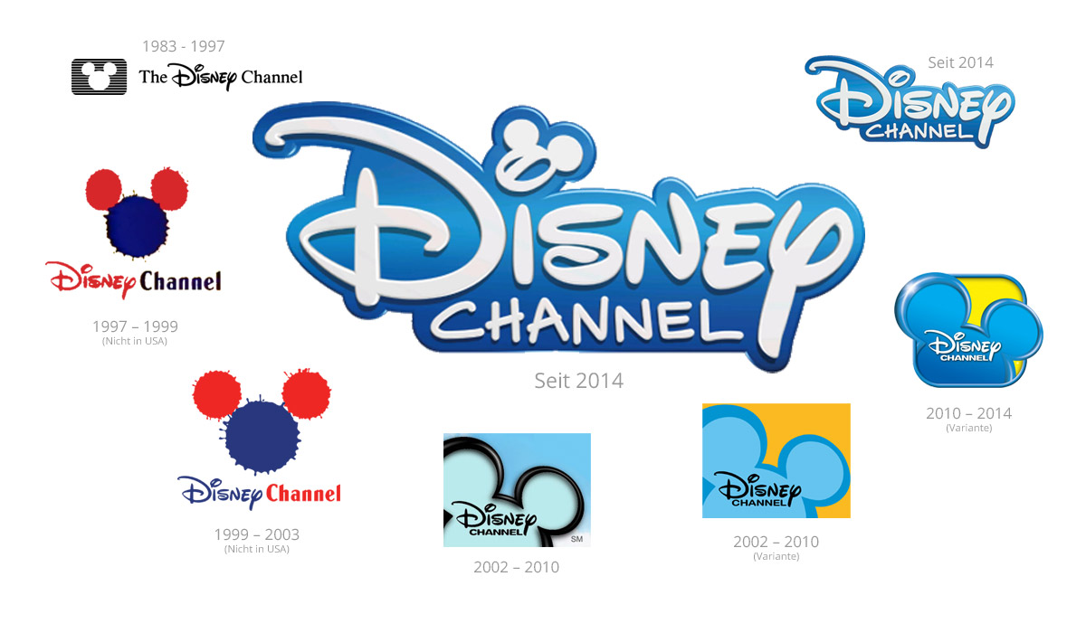 Neues Logo für den Disney Channel - DESIGNBOTE