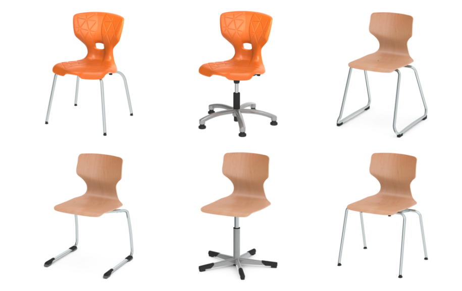 Eine Auswahl Stühle von ASS - Quelle: ASS.de