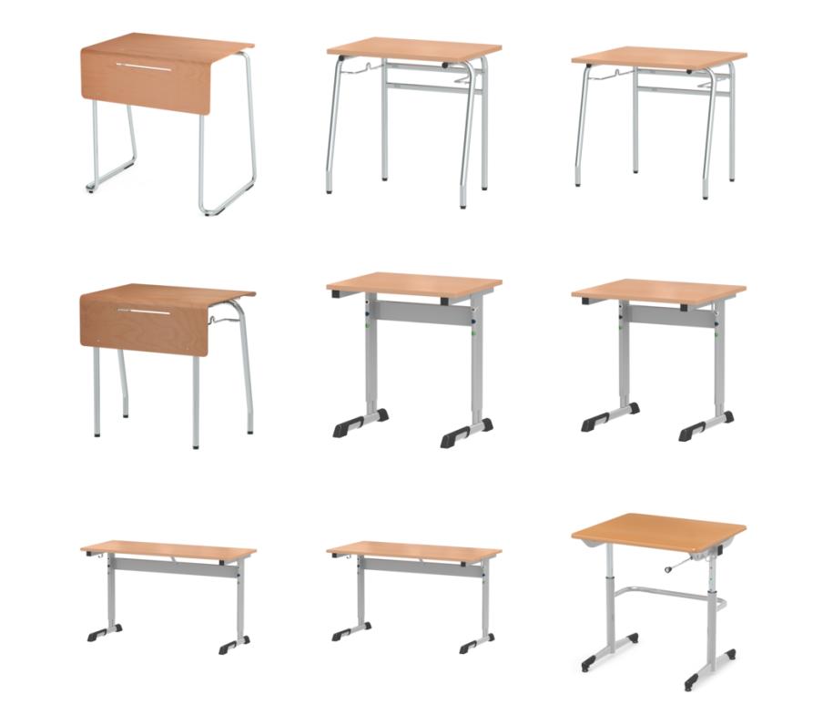 Eine Auswahl Tische von ASS - Quelle: ASS.de