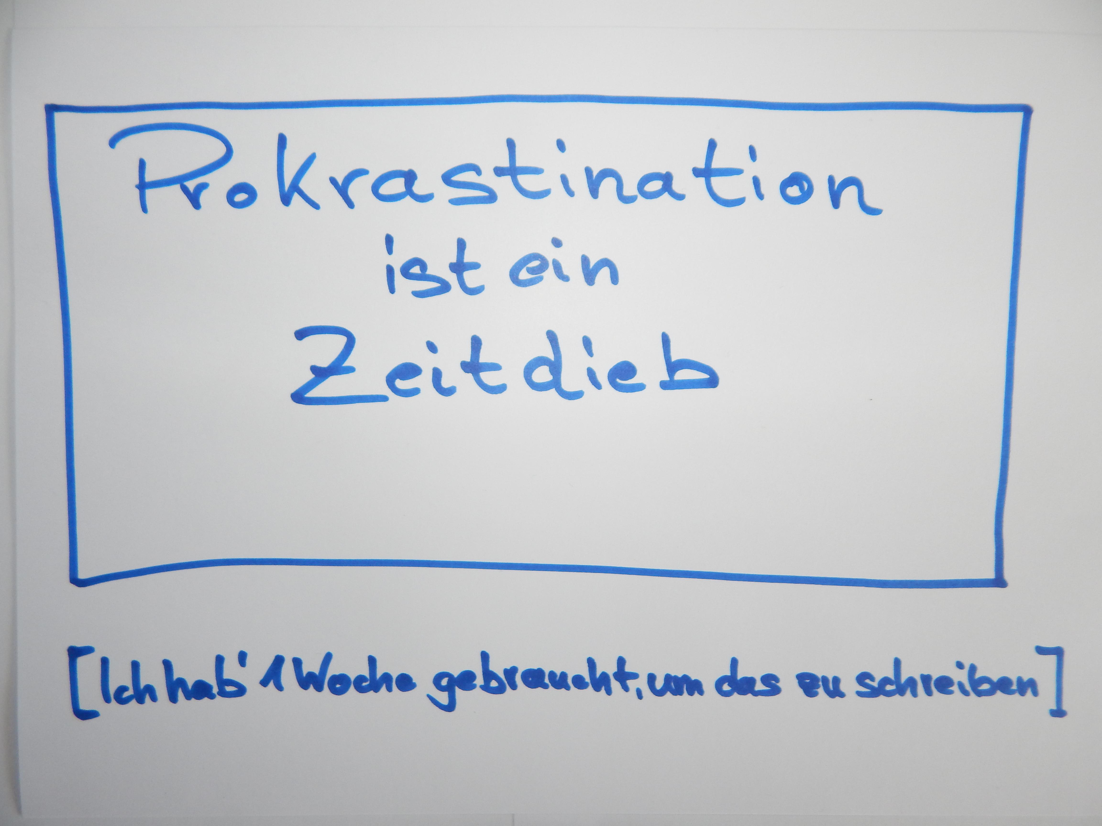 Prokrastination nicht aufschieben! - DESIGNBOTE