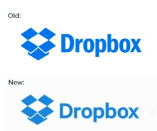 Dropbox neues Logo 2015